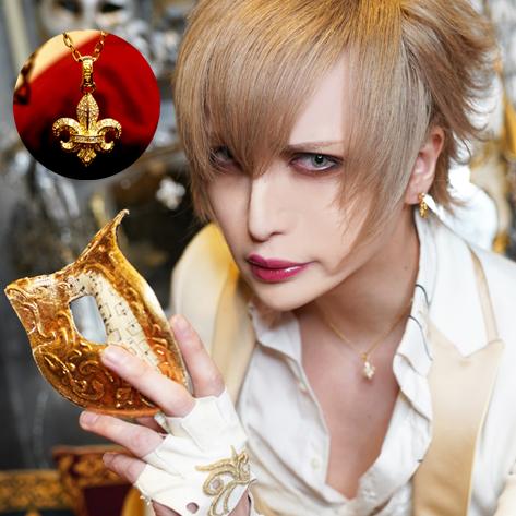 MiA愛用 百合の紋章ペンダント『MiAIris18金パヴェダイヤモンド』【完全限定10個】