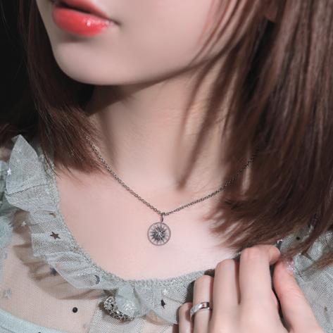 【NEW】鎌田 紘子オリジナルジュエリー『Amulet』ダイヤモンドネックレス※受注生産(納期→4~5週間)