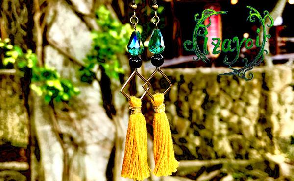 <span>izayoi Amuletum</span>ラテン語で『お守り』を意味するアムレートゥム。願いを込めたアクセサリーを『ひとつひとつ丁寧に、心を込めて・・・』